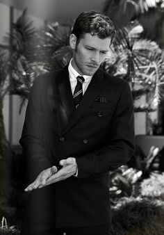 joseph morgan white suit - Google Search