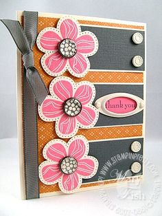 Stampin up eastern blooms vanilla hodgepodge-Stampin pretty