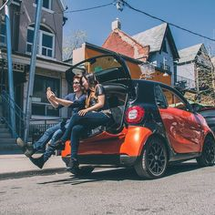 Go ahead — stop and take a selfie. Twelve cubic feet of storage gives you plenty of room to stretch out.  Photo via @smartcanada on Instagram