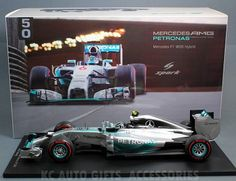 2014 Nico Rosberg #6 Mercedes AMG Petronas F1 W05 Hybrid Monaco Grand Prix Winner 1:18 Scale Model Car by Spark 18S141. Resin, no openings. Formula 1, F1, 2014 Monaco GP Winner, 1st Place. Very detailed with accurate graphics! Part # Spark 18S141.