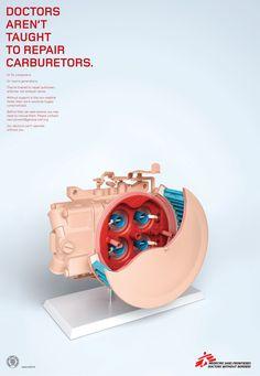 Medecins Sans Frontieres: Carburetor #ad #print