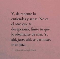 Text Quotes, Book Quotes, Life Quotes, Mood Tumblr, Cute Spanish Quotes, Inspirational Phrases, Love Phrases, Pretty Quotes, Life Thoughts