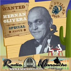 Hernán Oliva, 04 juillet 2015 , in www.radiomanouche.com