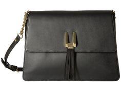 CALVIN KLEIN Rae Serena Messenger. #calvinklein #bags #shoulder bags #leather #crossbody #lining #