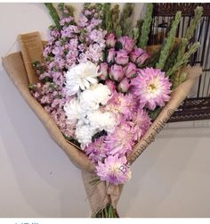 Beautiful Dahlias and colour combinations by Blooms By Elle Sydney