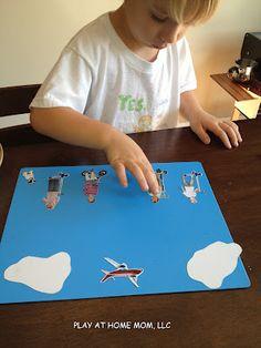 DIY magnetic storytelling for kids