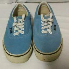 8f00c377154ddd Sky Blue Suede Vans Classic Sizes Men s 6.5 Women s 8  fashion  clothing   shoes