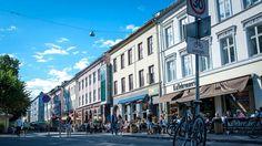 VALGMULIGHETER: På Grünerløkka i Oslo er det mange kaféer og restauranter å velge mellom.