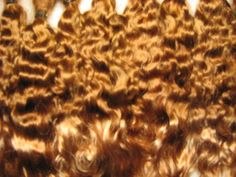 This angora mohair has been dyed a beautiful Dark Carmel Brown with acid dye made specifically for mohair. It has a gorgeous sheen and is not frizzy even when brushed dry, as shown in pictures. It is silky, wavy and very soft, the locks are a wave. It has been washed , combed three times and conditi...