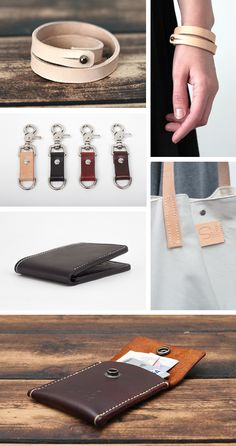 Get Inspired: Gorgeous Handmade Leather Goods from Sail