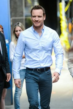 Fassy Time — More pictures of Michael Fassbender outside good...