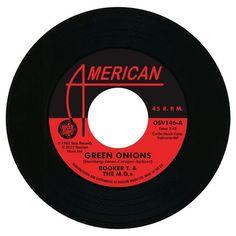 "Booker T & The MGs - Green Onions / The Mar-Kets - Balboa Blue 7"" Vinyl"