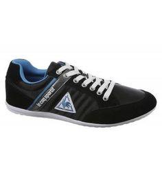 Coole Le Coq Sportif AURILLAC NYLON LOW (Zwart) Sneakers van het merk Le Coq Sportif voor Heren . Uitgevoerd in Zwart gemaakt van Diverse materialen.