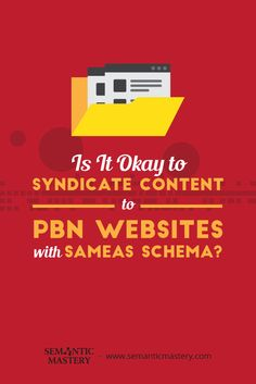 Is It Okay to Syndicate Content to PBN Websites with SameAs Schema? #SEO via http://semanticmastery.com/is-it-okay-to-syndicate-content-to-pbn-websites-with-sameas-schema/amp/