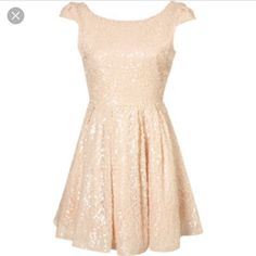 Nwt!! Topshop Sequin Dress! Price Firm
