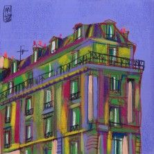 Urban Artwork - La nuit tombe - Olivier Anicet - Mixed