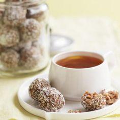 Lemon, date and coconut bliss balls | Australian Healthy Food Guide
