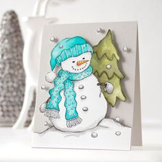 Simon Says Stamp SUZY'S HOLIDAY WATERCOLOR DOODLES Paintable Prints SWD12 From All Of Us zoom image