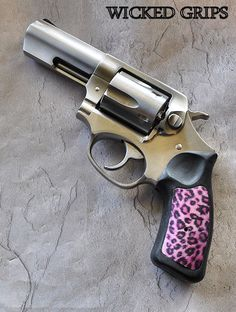 RUGER SP101 ALUMINUM PINK CHEETAH GRIPS #grips #ruger