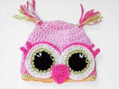 Owl hat. On etsy.