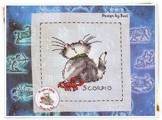Project 2014: 32/40 Scorpio (Margaret Sherry-Cattitude Horoscopes)