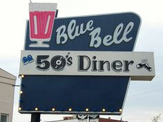 50's Diner Sign by Shutterfool, via Flickr