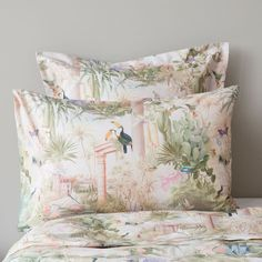 OASIS PRINT BED LINEN - Bedding - Bedroom | Zara Home United States