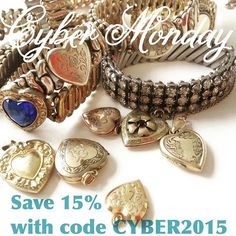 Happy Cyber Monday! Save 15% off all orders with code CYBER2015. (Ends 12/3)