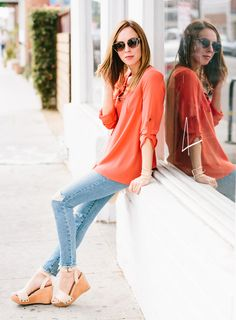 Eleven Affordable and Fantastic Lace Up Tops Under $100 – Sydne Style