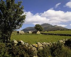 The Mourne Mountains, County Down, Ireland. Part of the setting of my novel.