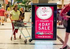 Holden's digital out-of-home ad campaign will reach approximately 49% of Australia's population. Read more on ScreenMedia Daily #digitalsignage
