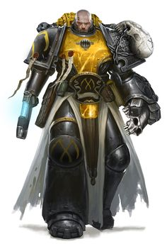 Chapter Master Thorcyra - Thorcyra was the first Chapter Master of the Scythes of the Emperor. He, along with the remnants of the Scythes' entire 1st Company, were wiped out to a man during the Battle of Miral by the Tyranids of Hive Fleet Kraken.