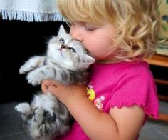 Pictures of Babies with their Animals <3 - My kids will always be surrounded by animals just like I was.