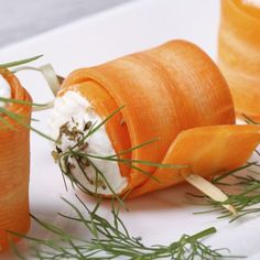 Karotten-Röllchen