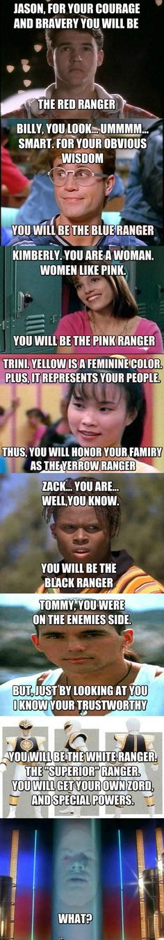 How Zordon chose the Power Rangers… < So good, I'm ignoring the grammatical error and repinning.