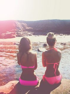 Been looking for a hot pink bikini - i got the one to the left!!!