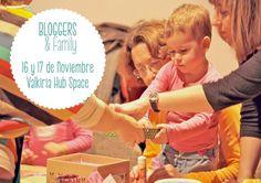 bloggers and family Cita en el Valkiria Hub Space para celebrar el BAF13