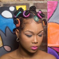Bantu knots are a natural hair staple, but while many see the look as a setting style for bedtime these ladies prove you can proudly rock your bantus in the daytime too. | Page 10