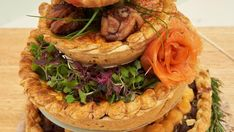 Jodi's savoury quiche from Pie Week is exactly what your next brunch is begging for. Salmon Pie, British Baking Show Recipes, Seafood Recipes, Cooking Recipes, Breakfast Pastries, Baking Tips, Fish And Seafood, A Food, Food Processor Recipes