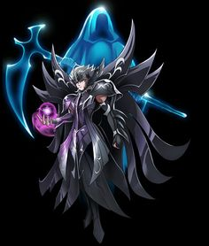 Hades by on DeviantArt Manga Anime, Anime Art, Asgard, Hades And Persephone, Character Wallpaper, Sci Fi Characters, Manga Games, Geek Culture, Cover Art