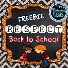 Respect - Respect: First day back at school is such a crucial time for both the teacher and students. It is paramount that classroom routines and expectations are set in place from day one. This pack includes writing prompts that assists student to gain a deeper understanding about respect.