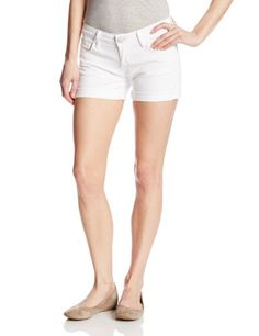 True Religion Women's Cassie Rolled Short, Optic White, 25 >>> Check out the image by visiting the link.