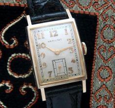 Men's Vintage Watch: 1953 Hamilton Dress Wristwatch | Strickland Vintage Watches