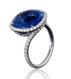 Sapphire and Diamond Twist Rings - Bayco - Product Search - JCK Marketplace