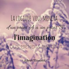 #quote #french #Einstein #imagination