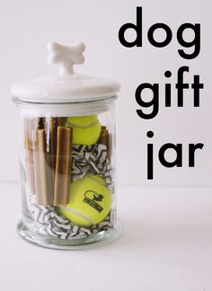 Cute gift for dog people and their pups. Includes printable gift tags!
