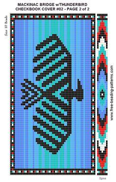 Ojibwe beading patterns.