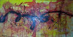 120x60cm auf 5cm dicken Galeriekeilrahmen Acrylmischtechnik (available)