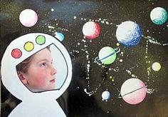 Åk 2 har läst om Rymden och avslutar med ett bildprojekt Sistema Solar, Space Crafts For Kids, Outer Space Theme, Space Projects, Apple Roses, Wallpaper Space, Earth Science, Stargazing, Pre School