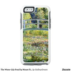 The Water-Lily Pond by Monet Fine Art OtterBox iPhone 6/6s Case